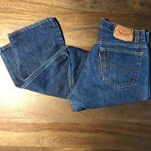 Vintage 1980s Levi's 501 Jeans Size 35